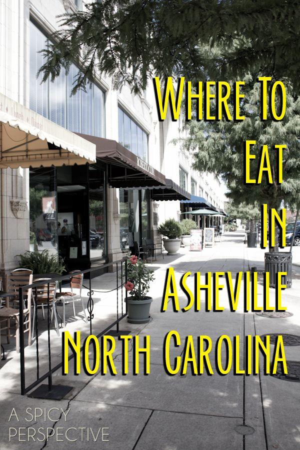 Where to Eat in Asheville, North Carolina ASpicyPerspective.com @Melanie Bauer Bauer Bauer Bauer Mauer Aren't you going here?