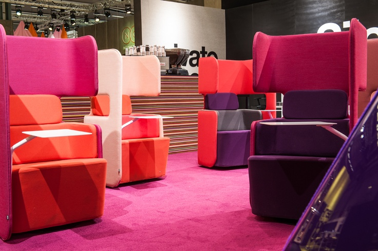 Podseat design o4i Design Studio. Martela at the Stockholm Furniture Fair 2013. (photo Lari Järnefelt)
