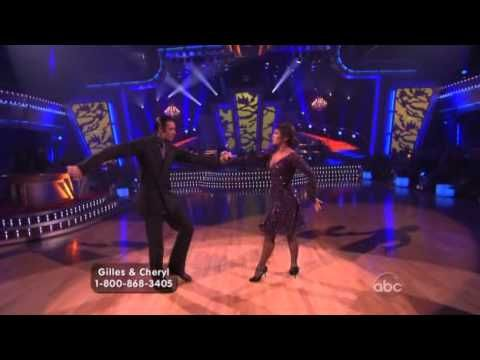 dwts. I love cheryl burke, and they were an amazing couple that season. plus I love the tango.