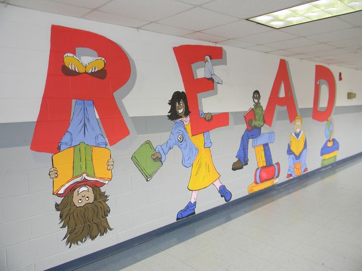 Classroom Mural Design ~ Best images about library building ideas on pinterest