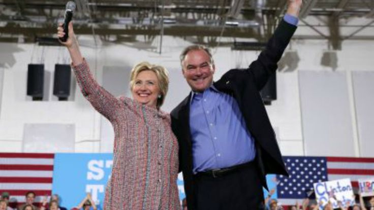 Hillary Clinton has chosen Virginia Sen. Tim Kaine to be her running mate, turning to a steady and seasoned hand in government to fill out the…