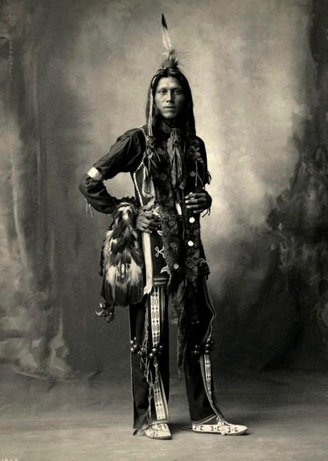 "Dustmaker, ""Pete Mitchell"",  Ponca. Photo 1898."