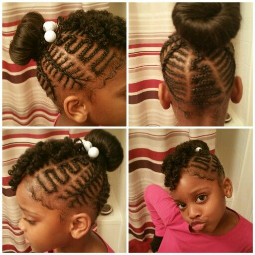 Terrific 1000 Images About Cute Hair Styles For Little Girls Ages 2 Short Hairstyles For Black Women Fulllsitofus