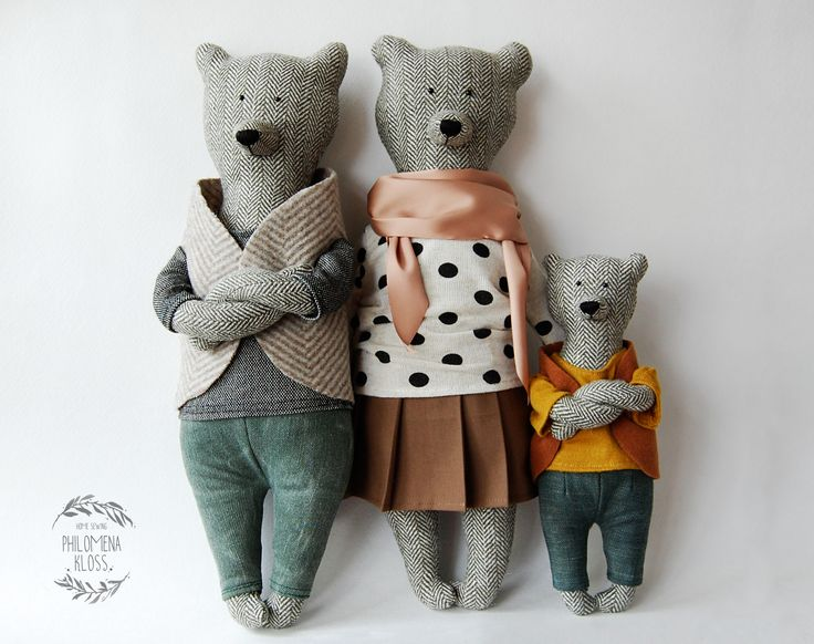 Bear family by Philomena Kloss - The Pled