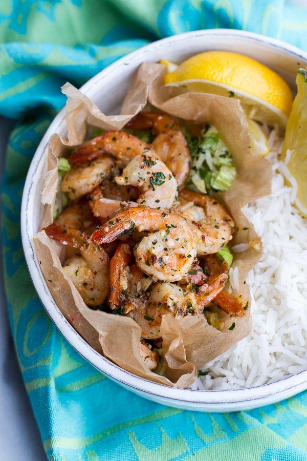 Hawaiian Shrimp Truck Special (Garlic Lemon Butter Shrimp) | halfbakedharvest.com