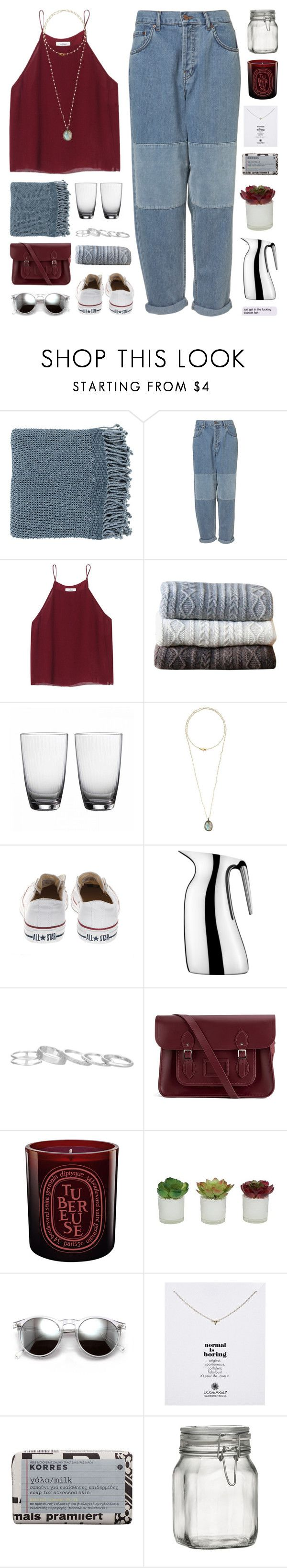 """""""blanket forts"""" by martosaur ❤ liked on Polyvore featuring Surya, Wilfred, Johanna Howard, Wedgwood, Bettina Duncan, Converse, Georg Jensen, Kendra Scott, The Cambridge Satchel Company and Diptyque"""