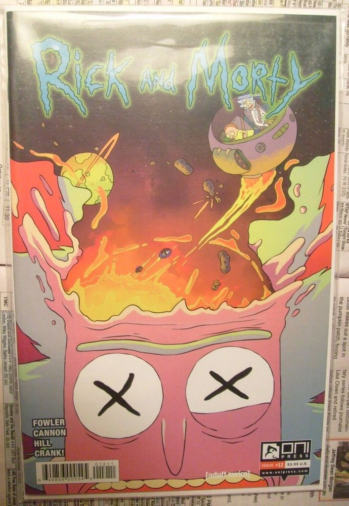 Rick And Morty CARTOON COMIC BOOKS-12 DIFFERENT ONES-ONI PRESS