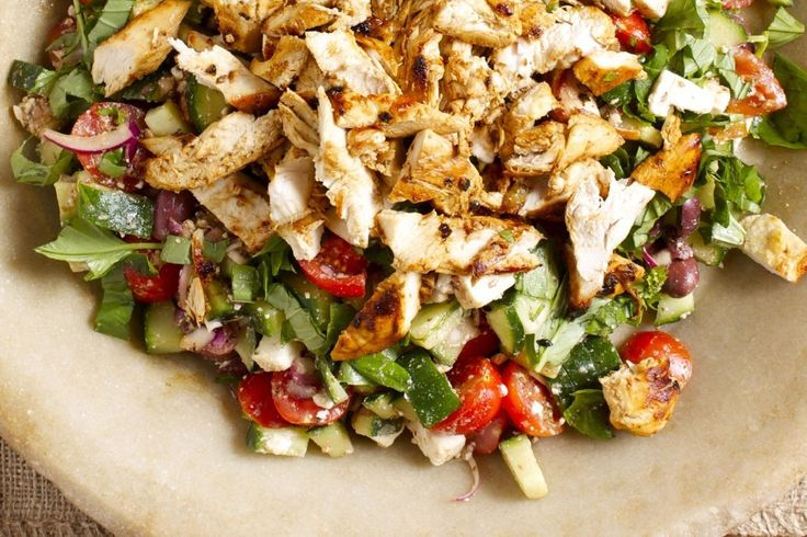 Hello Fresh Greek God's Grilled Chicken Salad Recipe