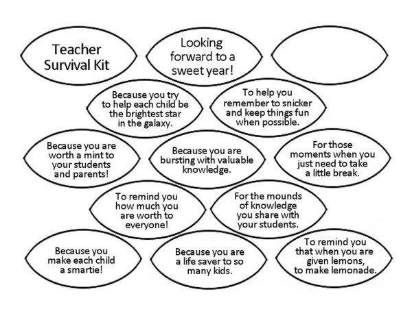 Best 25+ Teacher survival kits ideas on Pinterest