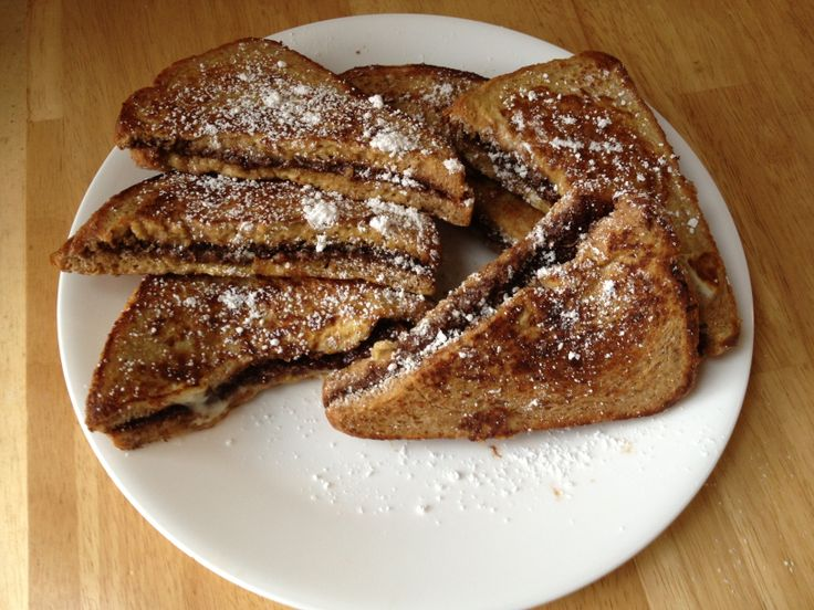 Nutella stuffed French toast | Cooking/Baking fun! | Pinterest