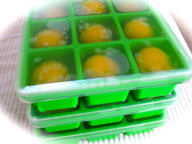 Freezing Fresh Eggs - last up to 6 months in freezer.  Beehive Cottage