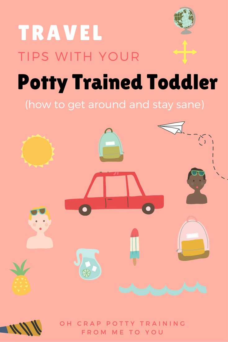travel tips with new potty trained kids | potty training tips | how to potty train your toddler