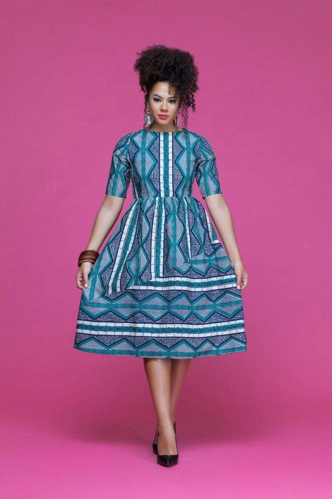 20 Jolies Modeles De Robes En Pagne H Couture Afro Pinterest