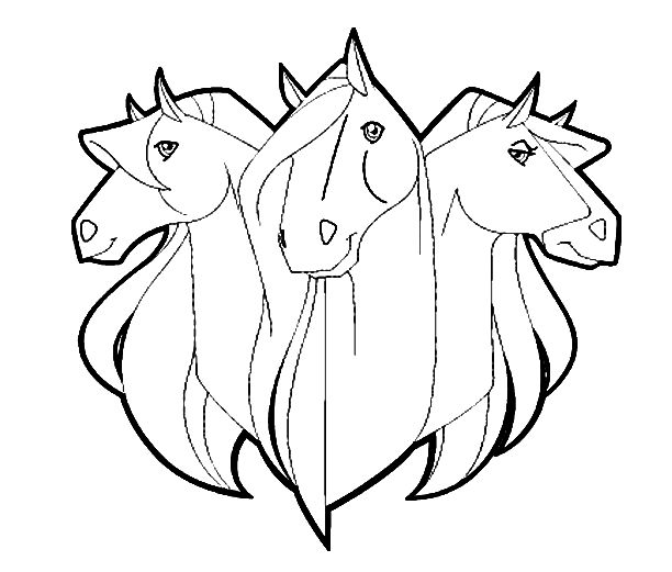 205 best Coloring-Horses images on Pinterest | Adult coloring ...