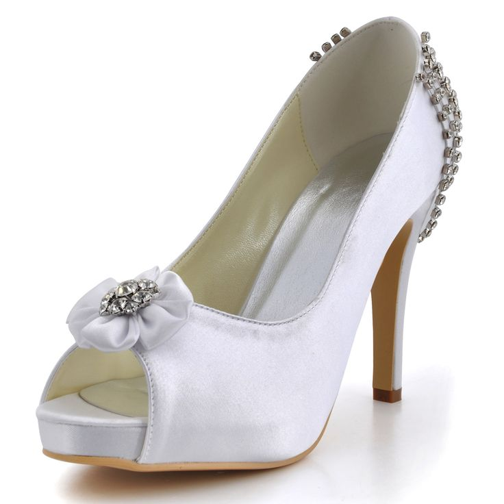 Mujer Zapatos Seda Primavera / Verano Pump Básico Zapatos de boda Tacón Stiletto Punta abierta Recogido Rosa claro / Boda / Fiesta y Noche pMd8GRmWHd