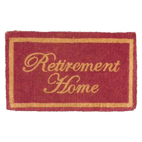 kokosmat retirement home red*