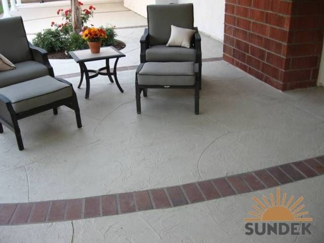 stained concrete patio gray. Stain Concrete Patio + Brick - Yahoo Image Search Results Stained Gray