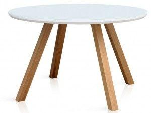 A może okrągły stół w jadalni? Idealny na większą rodzinę. #stołydrewniane