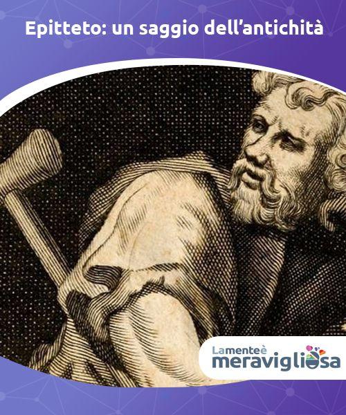 Epitteto: un saggio dell'antichità  Con questa semplice, ma #veritiera, frase, Epitteto di Frigia, filosofo stoico del I secolo d.C, poneva le radici della psicologia contemporanea. Epitteto nacque nell'anno 55 a Hierapolis di Frigia e arrivò a Roma come schiavo di #Epafrodito che lo educò fino al suo esilio a #Nicopoli nell'anno 93, dove fondò una prestigiosa scuola alla quale si dedicò completamente. #Tunteet