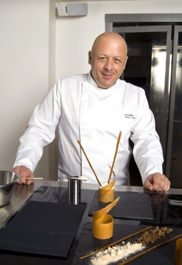Thierry Marx. Cuisine moléculaire