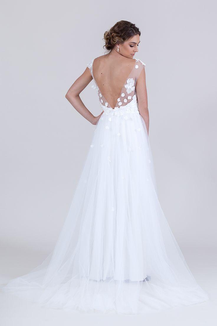 Zara Lux Gown (Ivory)