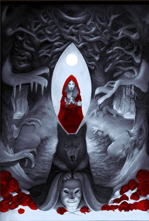 Angela Carter's The Bloody Chamber illustrated by Ashley Edge