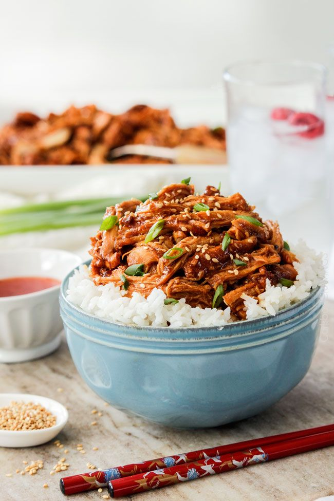 Asian Sweet Chili Sesame Chicken   http://www.carlsbadcravings.com/asian-sweet-chili-sesame-chicken/ (Subs...more the method that is interesting)