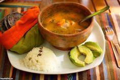 Guatemalan Cuisine: Caldo de Gallina Criolla