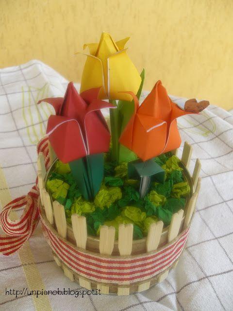Un giardino di tulipani