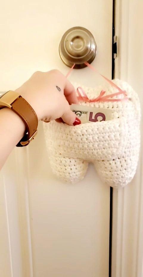 Crochet Tooth Fairy Pillow Pattern