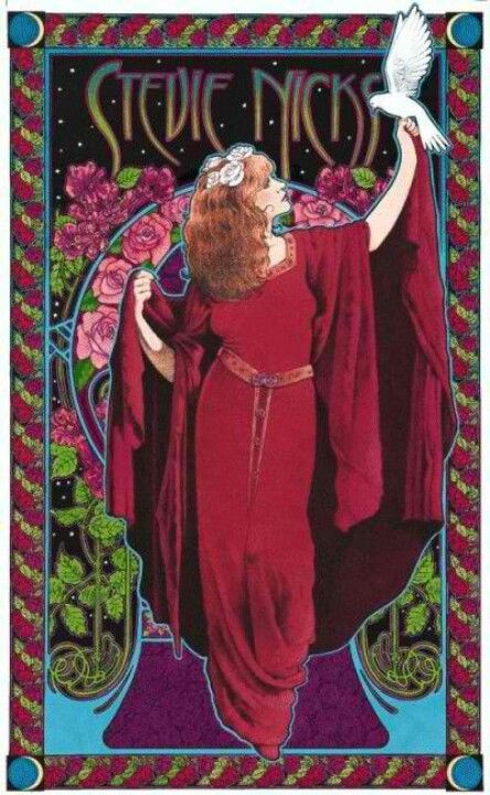 ☯☮ॐ American Hippie Classic Rock Music  ~ Gypsy // Stevie Nicks