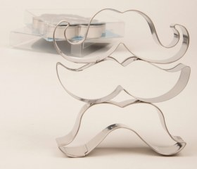 Mustache Cookie Cutter Set, Yesss!!! cooking, fun cookies