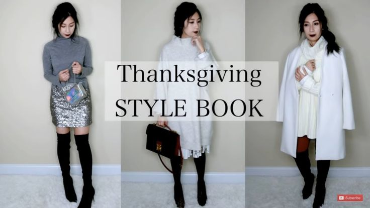 How To Style: 3 Thanksgiving Outfit Ideas | Celine Trapeze  LV Monceau  Banana Republic | Alexa Style Book  Hello Beauties In todays video I had paired together 3 different thanksgiving outfits to keep you looking cute and cozy at the same time.  Hope everyone will have a wonderful holiday seasons with family and friends.  Hope you enjoy!!  Outfit 1 1. Jacket  H&M (similar)  http://go.magik.ly/ml/7o53/ 2. Sweater  H&M (similar) - http://go.magik.ly/ml/7o4z/ 3. Leggings  Zara (similar)…