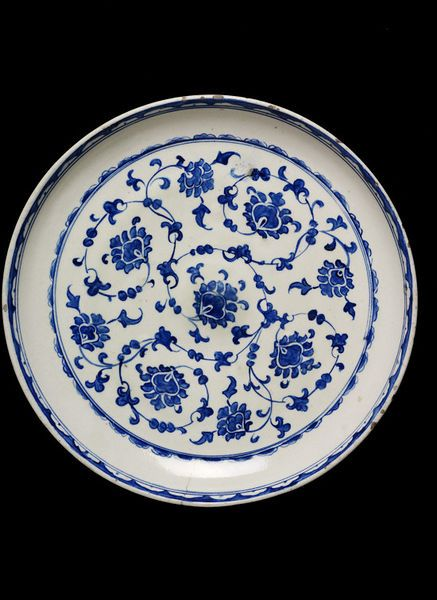 Dish, Iznik Turkey, ca1580 | V&A