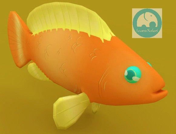 A little fish #learnspanish #learnsafari