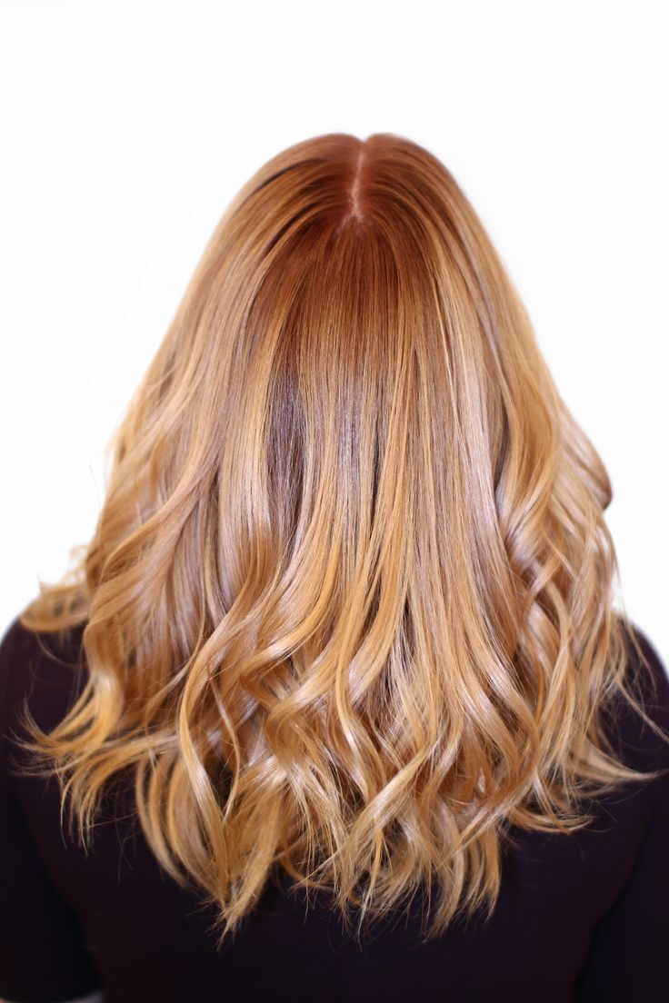Warm Copper Blonde ‹ HAIR COLORIST SWEDEN — Madde Christensson, Copyright 2016