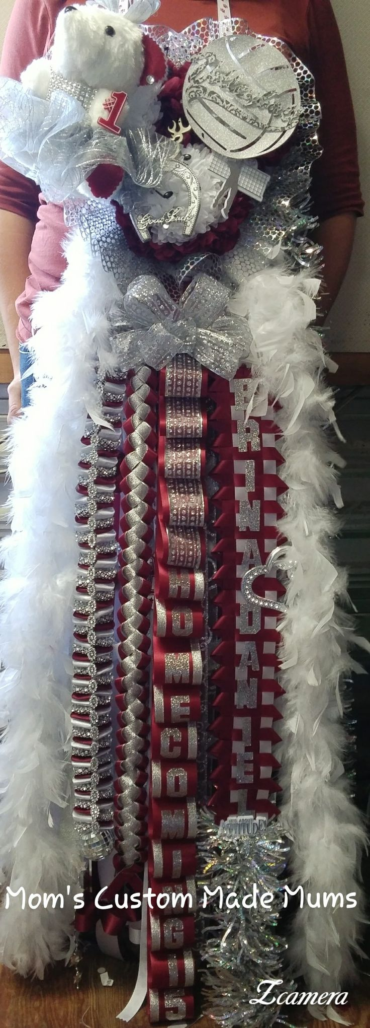 Triple Homecoming Mum  Mom's Custom Made Mums
