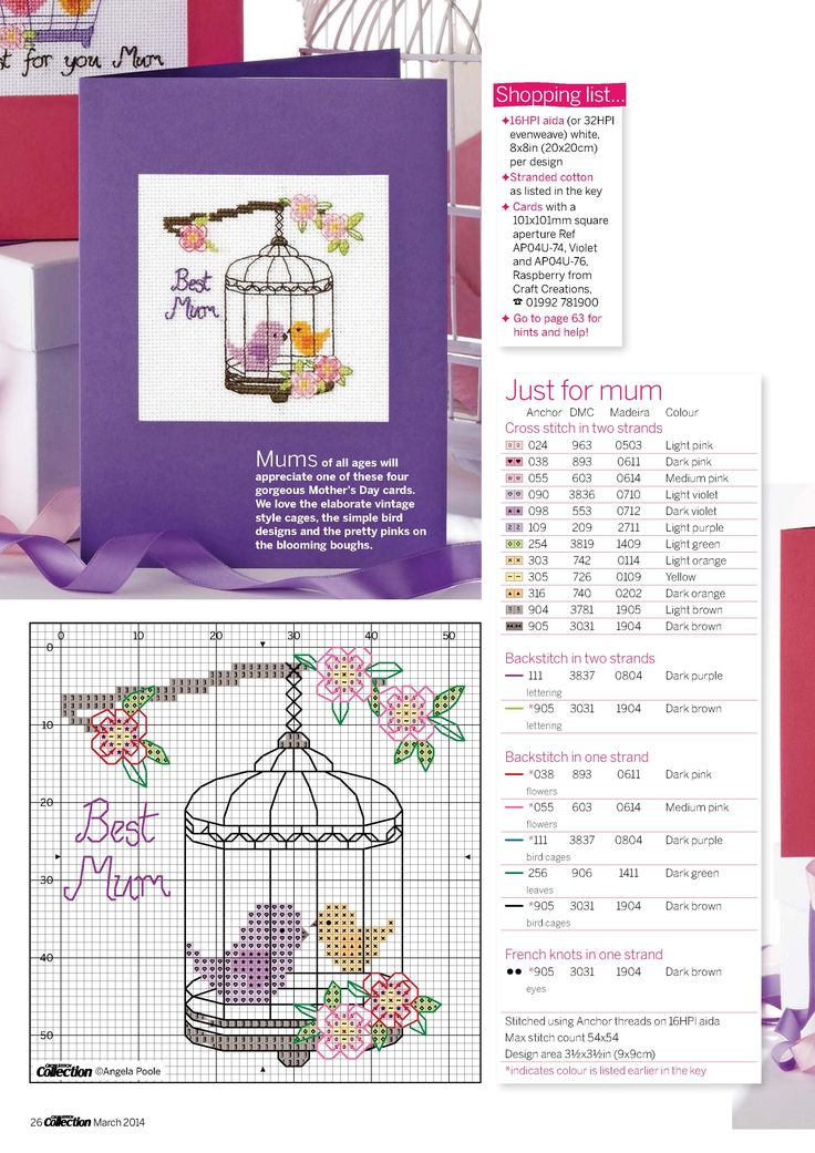 Cross Stitch collection 03.2014