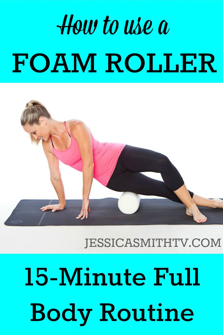 Learn how to use a foam roller and follow along with this full, total body routine!