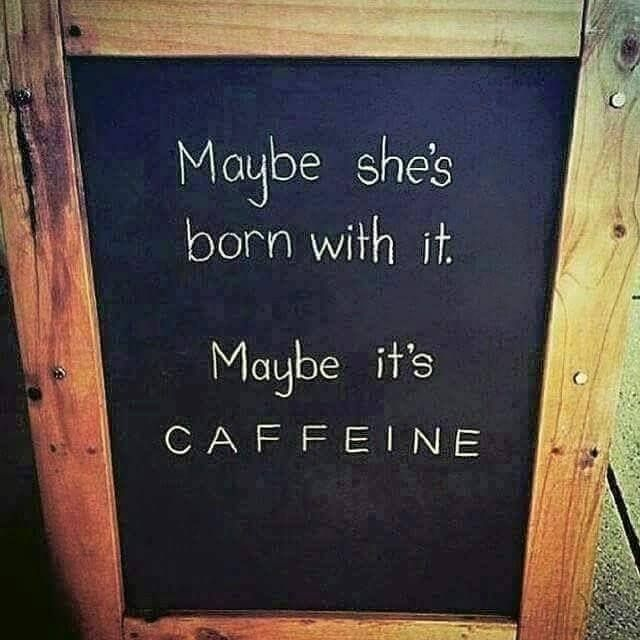 I know this... it is without a doubt Caffeine... trust me I am one of the many in need of such liquid consciousness!