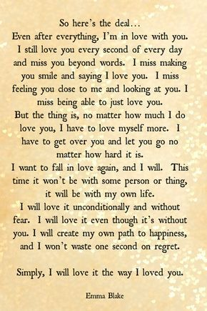 The  Best Break Up Letters Ideas On   Sad Words Sad