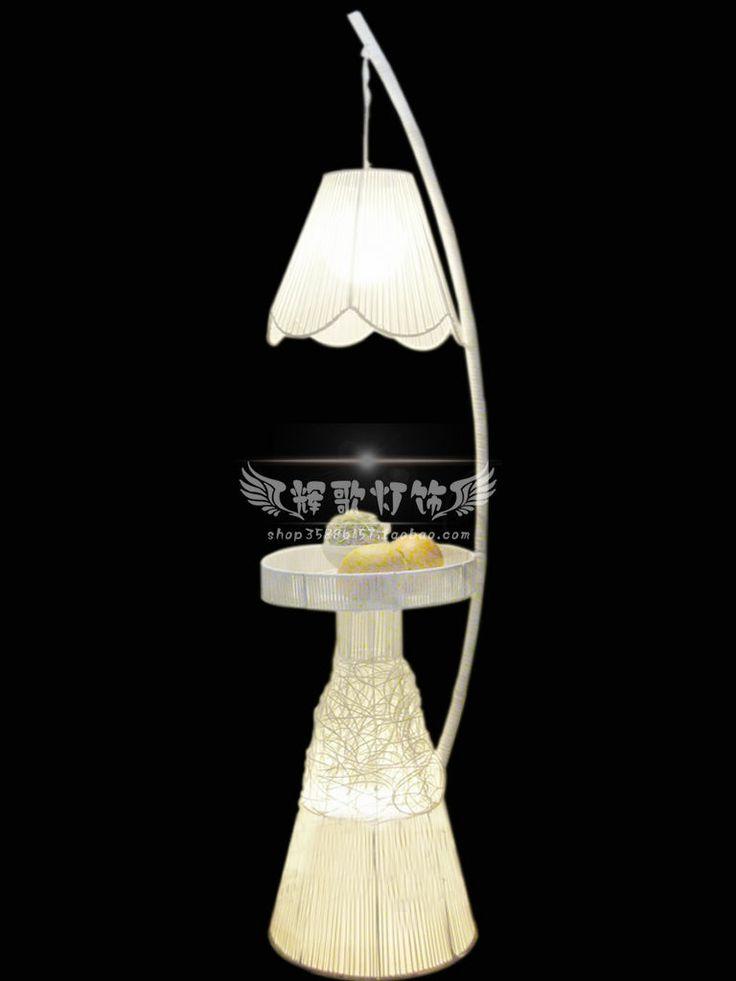 Modern Floor Lamp Rattan Floor Lamp Bedroom Floor Lamp Telephone Stand Floor Lamp Us 170 30