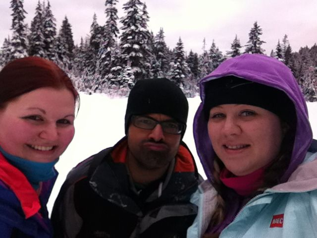 Spent the day #snowshoeing at Mount Seymour with the road trip crew. This is a great way to stay active while waiting for the road trip season to begin again.