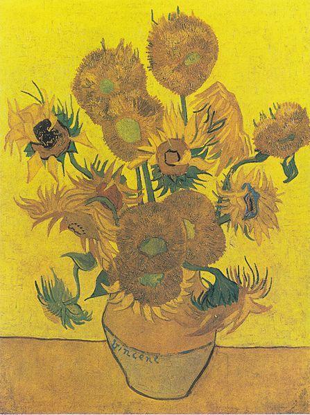 """Anche i Girasoli di Van Gogh """"appassiscono"""", ecco il perché"""