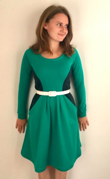 Ana's Zadie Dress - sewing pattern by Tilly and the Buttons