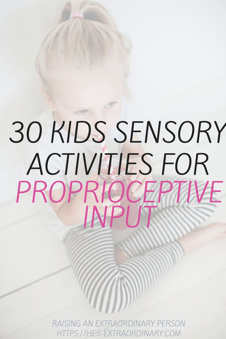 30 Kids Sensory Activities for Proprioceptive Inputer | SPD | Sensory Processing Disorder | Sensory Integration | Autism