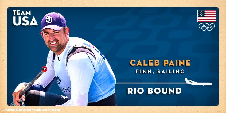 Caleb Paine Qualifies For The 2016 U.S. Olympic Sailing Team