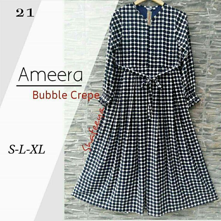Ameera  Bubble Crepe