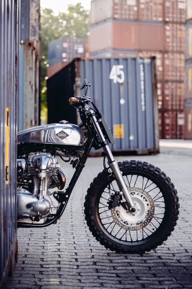 """scrambler081: """" Karoo Tailored Motorcycles """""""