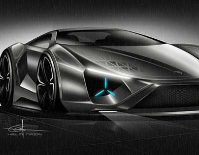"""Check out new work on my @Behance portfolio: """"Concept Car PROTON"""" http://be.net/gallery/60018331/Concept-Car-PROTON"""